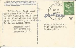 2014 Southern Postcards 10020