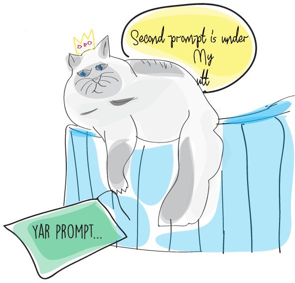workshop prompt cat