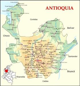 Antioquia-road-map